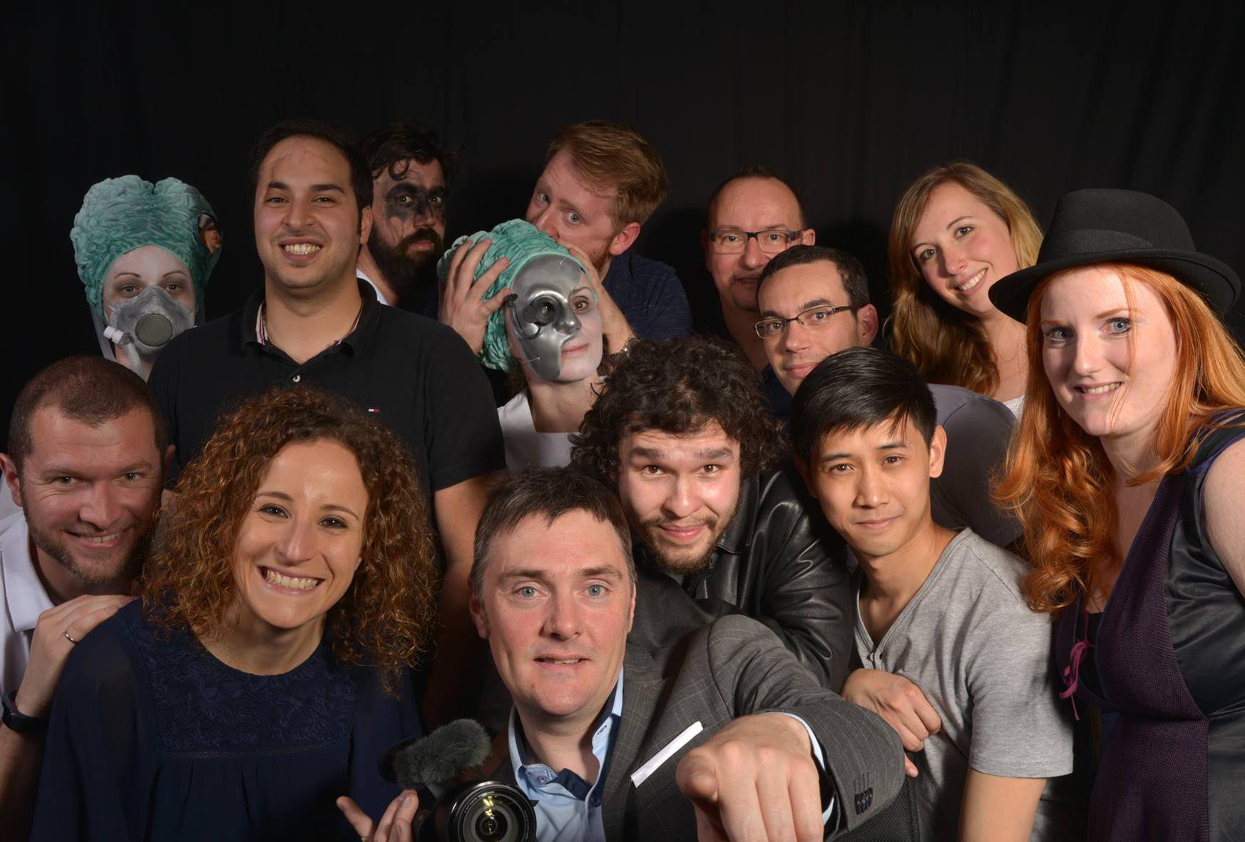 Membres Atelier vidéo 2016